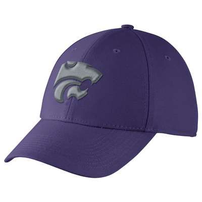 Nike Kansas State Wildcats Dri-FIT Swoosh Flex Hat