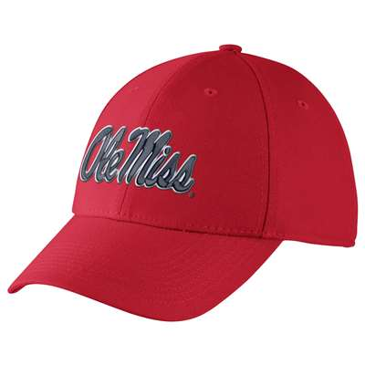 Nike Mississippi Ole Miss Rebels Dri-FIT Swoosh Flex Hat