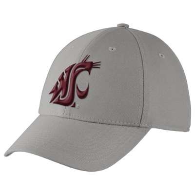 Nike Washington State Cougars Dri-Fit Swoosh Flex Hat