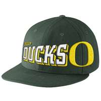 Nike Oregon Ducks Amplify Fan Snapback Hat