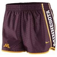 Nike Minnesota Golden Gophers Women's Chainmaille Pacer Short