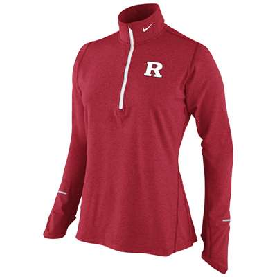 0972bab8879e Nike Rutgers Scarlet Knights Women s Dri-Fit Element Top