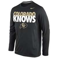 Nike Colorado Buffaloes Knows Legend Long-Sleeve T-Shirt