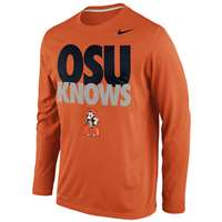 Nike Oklahoma State Cowboys Knows Legend Long-Sleeve T-Shirt