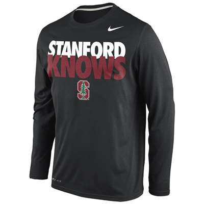 80bdf233 Nike Stanford Cardinal Knows Legend Long-Sleeve T-Shirt