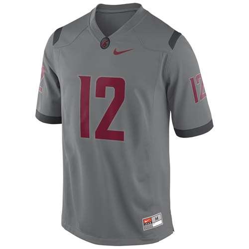 buy popular 6f412 d279e Nike Washington State Cougars Replica Football Jersey - #12 Dark Steel Grey