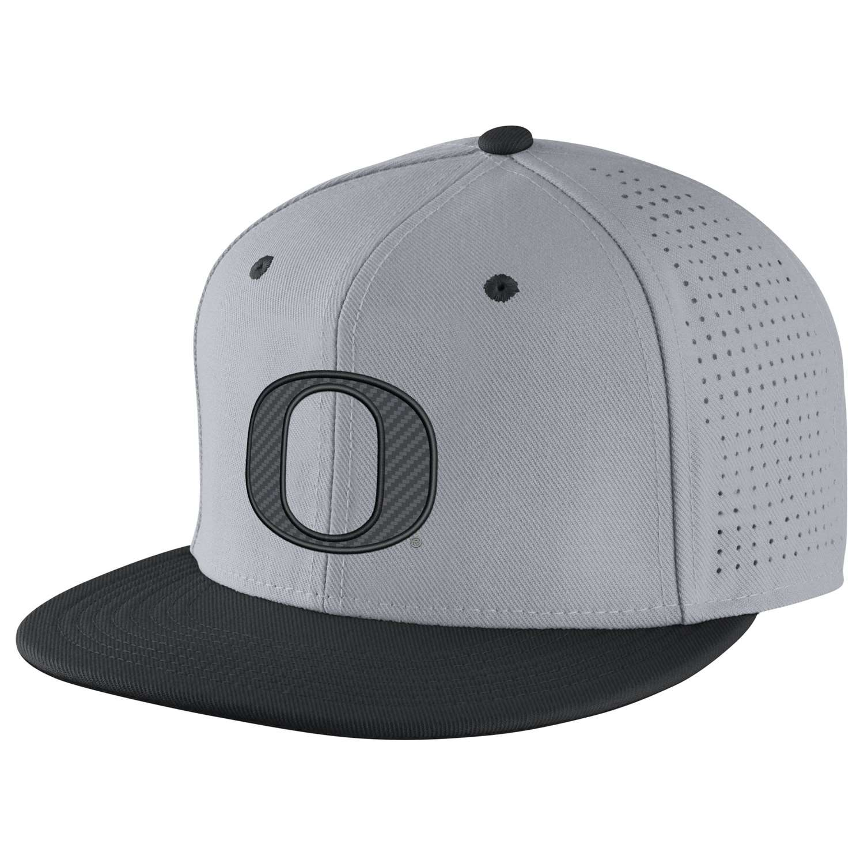 7264d5048c5 Nike Oregon Ducks Dri-FIT Authentic Fitted Hat - Grey