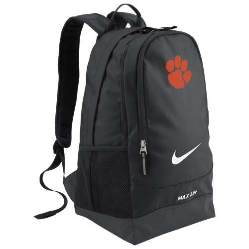 nike clemson tigers team training backpack