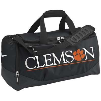 b527729380 Nike Clemson Tigers Team Training Medium Duffle Bag