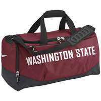 Nike Washington State Cougars Team Training Medium Duffle Bag