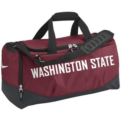 3fbe2f712f Nike Washington State Cougars Team Training Medium Duffle Bag