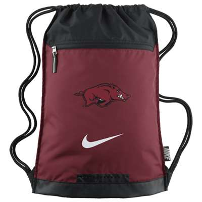Nike Arkansas Razorbacks Team Training Gymsack