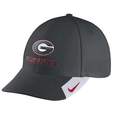 c5d052753 Nike Georgia Bulldogs Legacy 91 Swoosh Flex Hat
