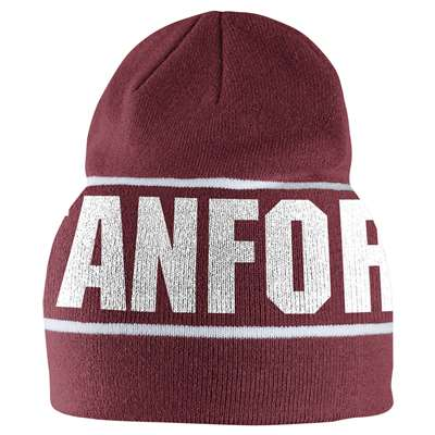 Nike Stanford Cardinal Players Knit Beanie