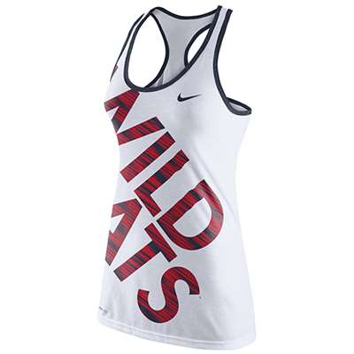 Nike Arizona Wildcats Womens Dri-Blend Warp Tank Top