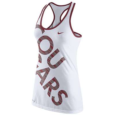 Nike Washington State Cougars Womens Dri-Blend Warp Tank Top