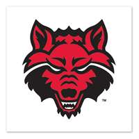 Arkansas State Redwolves Temporary Tattoo - 4 Pack