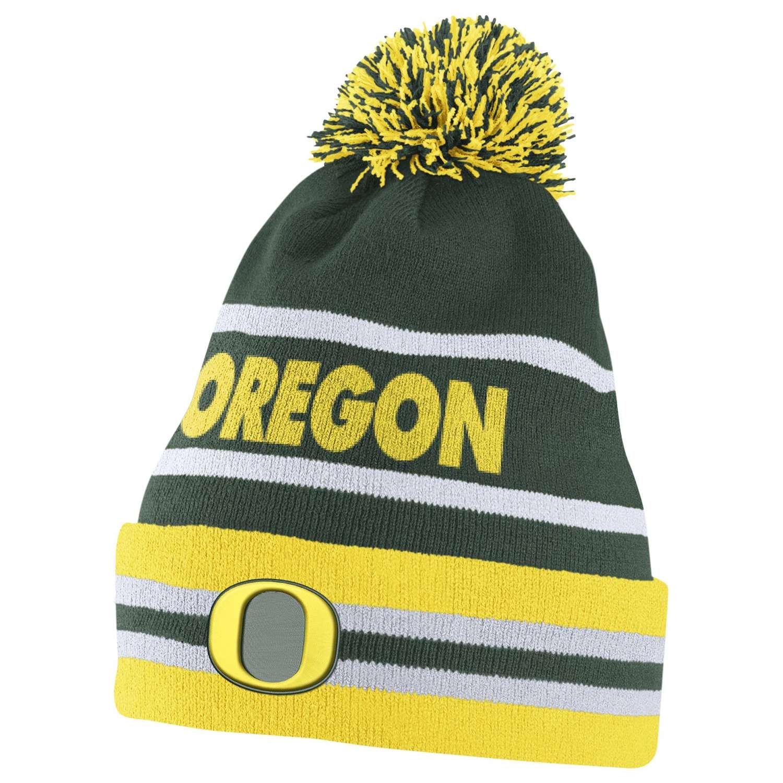 Nike Oregon Ducks Cuff Knit Beanie 637b98719ae