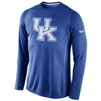 Nike Kentucky Wildcats Long Sleeve Disruption Shooting Shirt