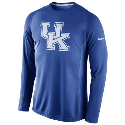 sports shoes 48d17 09f6a Nike Kentucky Wildcats Long Sleeve Disruption Shooting Shirt
