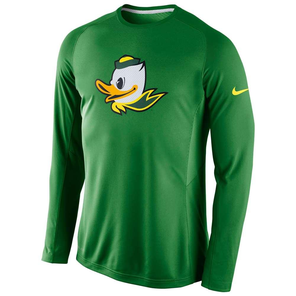 factory price 7380a 580bf Nike Oregon Ducks Long Sleeve Disruption Shooting Shirt