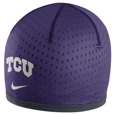 Nike TCU Horned Frogs Reversible Training Knit Beanie