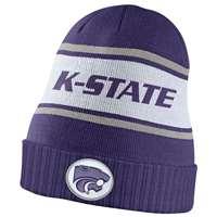 3dcda5f0c5f Nike Kansas State Wildcats Dri-FIT Sideline Knit Beanie ...