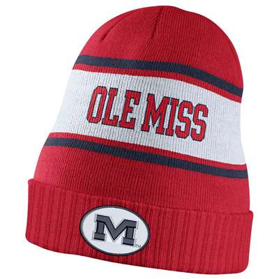Nike Mississippi Ole Miss Rebels Dri-FIT Sideline Knit Beanie