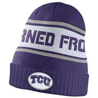 Nike TCU Horned Frogs Dri-FIT Sideline Knit Beanie