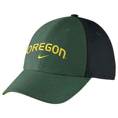 Nike Oregon Ducks Legacy91 Arch Swoosh Flex Hat - Green