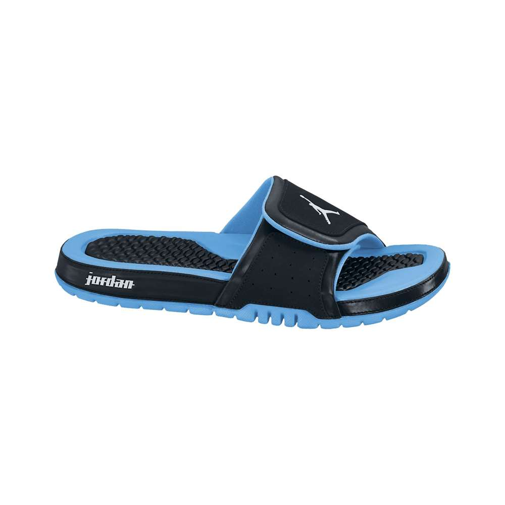 b6b54a7eefd999 Jordan Hydro 2 Slide - Black Light Blue