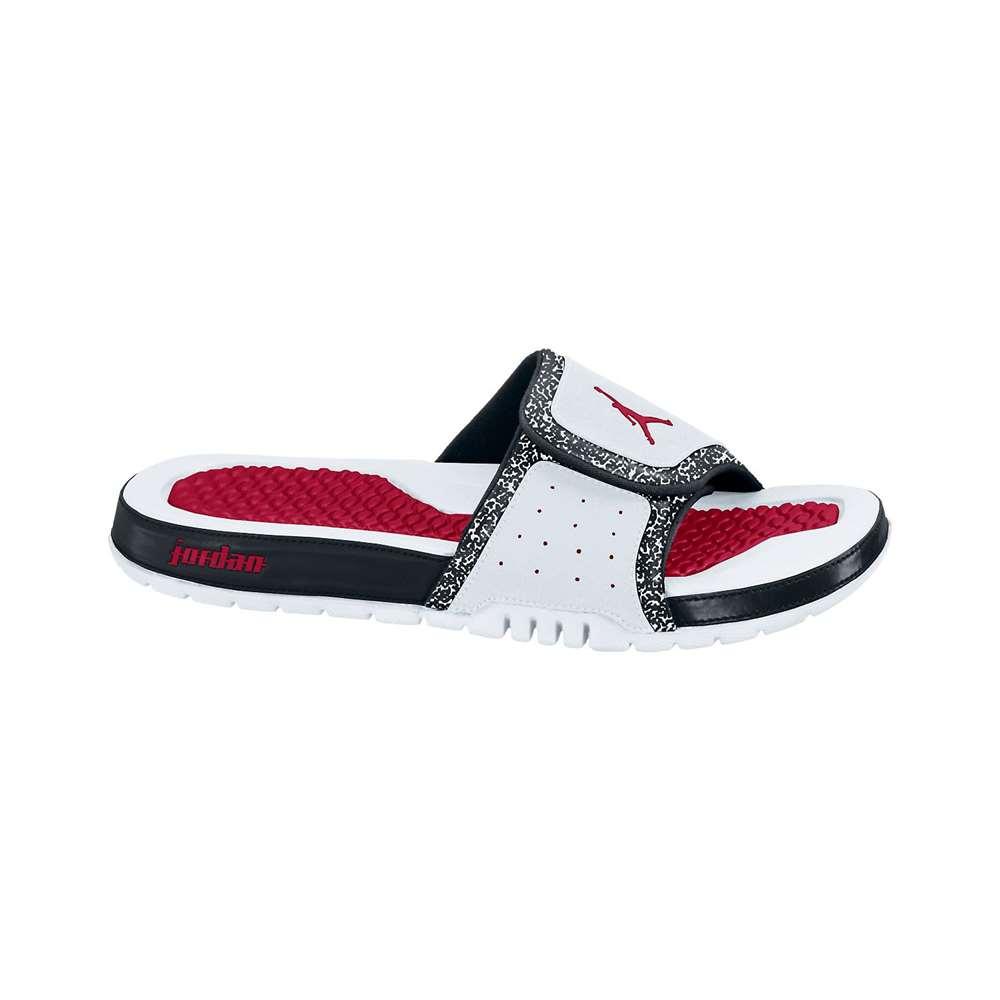 872bf6e2231eb Jordan Hydro 2 Slide - White Black Red
