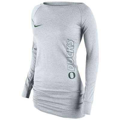 b6a4041b Nike Oregon Ducks Women's Stadium Epic Long Crew Top