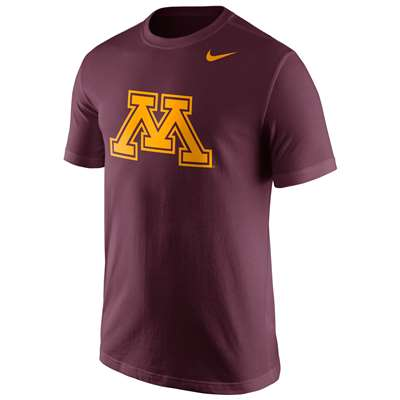 Nike Minnesota Golden Gophers Cotton Logo T-Shirt
