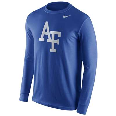 Nike Air Force Falcons Cotton Long Sleeve Logo T-Shirt