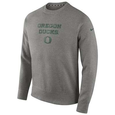 e6a366a5 Nike Oregon Ducks Stadium Classic Club Crew Sweatshirt