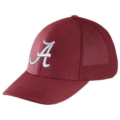 Nike Alabama Crimson Tide Dri-FIT Mesh Back Swoosh Flex Hat c163c40a962