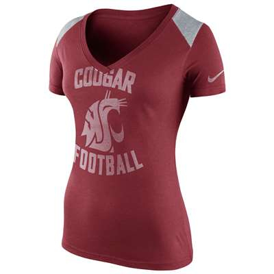 Nike Washington State Cougars Women's Stadium Football Top