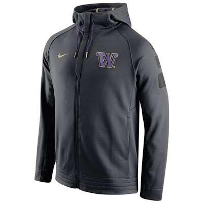 c95b138db8ae Nike Washington Huskies Elite Stripe Performance Hoodie