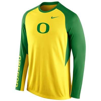 Nike Oregon Ducks Elite Shootaround Shirt