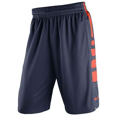 Nike Syracuse Orange Practice Elite Stripe Shorts