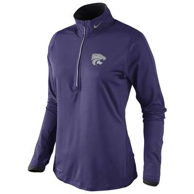 Nike Kansas State Wildcats Women's Dri-FIT Element Top