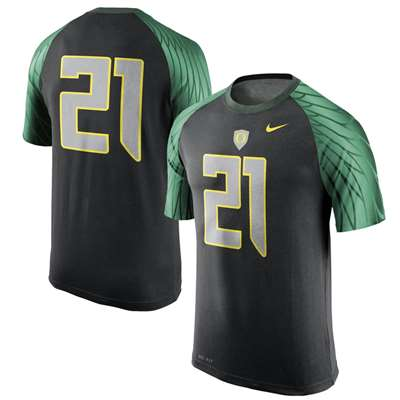 separation shoes af09f 01b88 Nike Oregon Ducks Dri-FIT Football Jersey T-Shirt