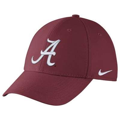 best service b77e3 18c64 Nike Alabama Crimson Tide Dri-FIT Wool Swoosh Flex Hat