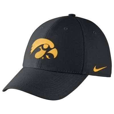 detailed look 4bff6 7683f Nike Iowa Hawkeyes Dri-FIT Wool Swoosh Flex Hat