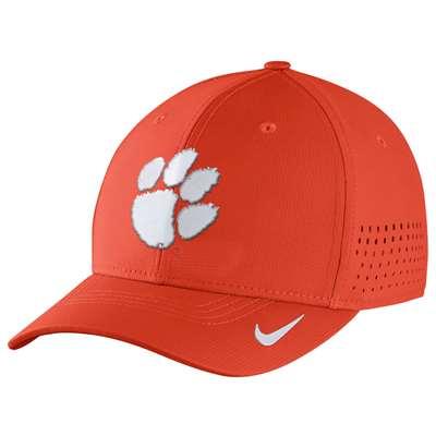 ac114658971 Nike Clemson Tigers Vapor Sideline Swoosh Flex Hat