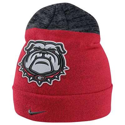 Nike Georgia Bulldogs Sideline Beanie 5ffeccfeaa0