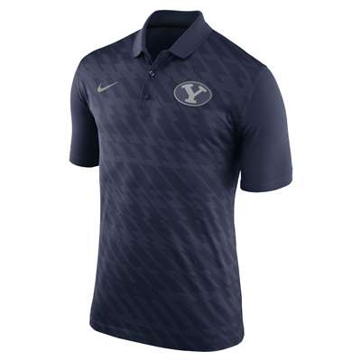 new arrival 4c6c6 1245c Nike BYU Cougars NK Dry Polo Shirt