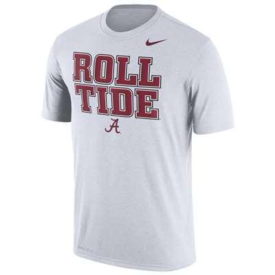 reputable site d5f5a e8ef1 Nike Alabama Crimson Tide Dri-FIT Legend Phrase T-Shirt