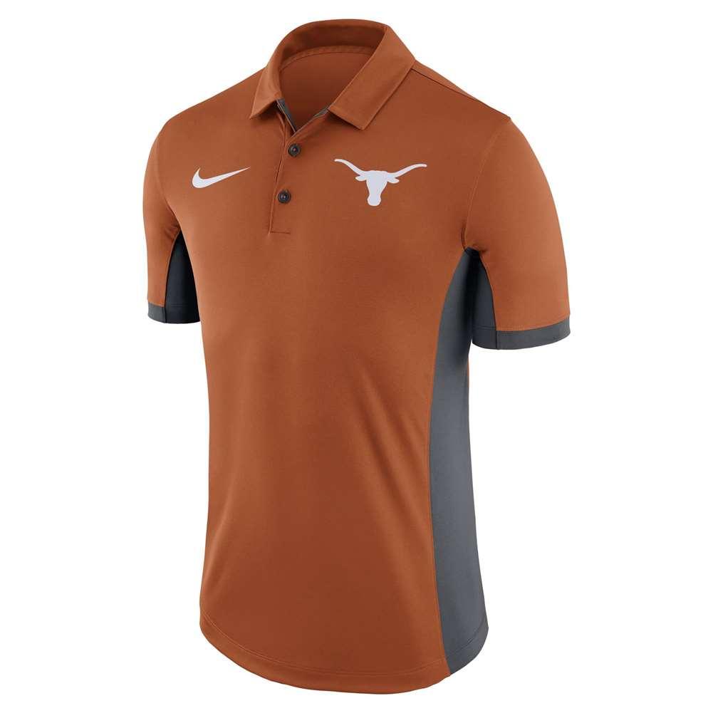 177c17ced Nike Texas Longhorns Dry Evergreen Polo